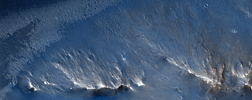 Valley in Murray Crater