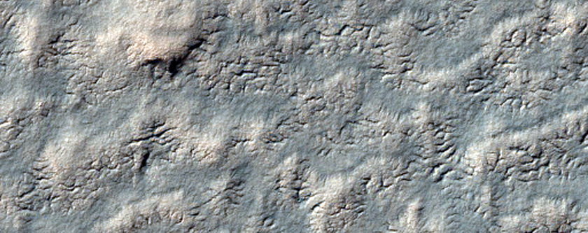 331-Meter Circular Feature on South Polar Layered Deposits