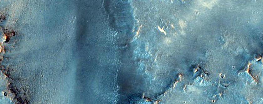Arnus Vallis in Syrtis Major Region