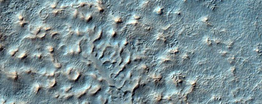 Craters Southwest of Icaria Planum