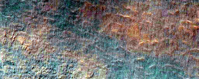 Noachis Terra Terrain