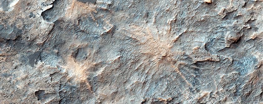 The Hoodoos of Mars