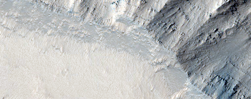 Slopes in Noctis Labyrinthus