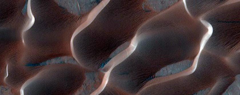 Meroe Patera Dune Monitoring