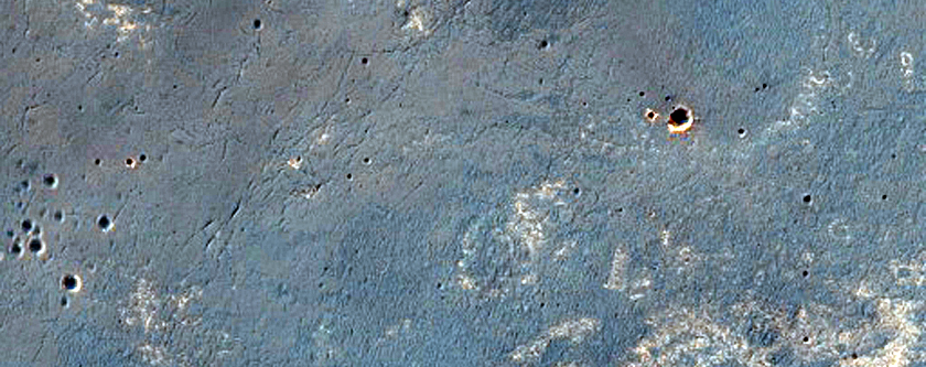 Opportunity Rover Traverse Near Endeavour Crater