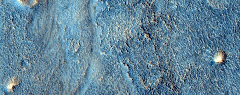 Knobs and Cones in Acidalia Planitia