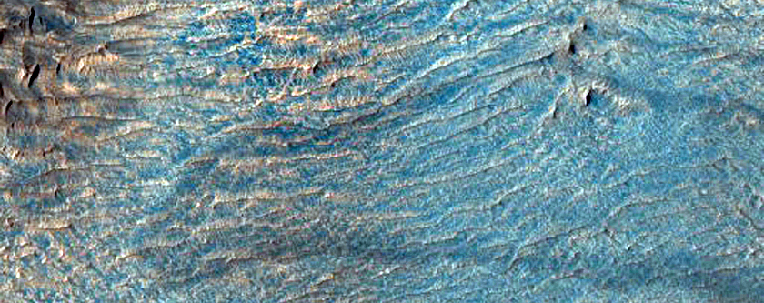Dark and Possibly Stationary Ripples in Anomalous Terrain