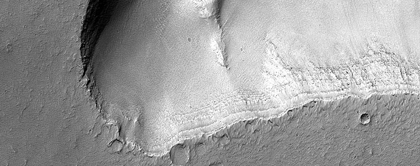 Trough South of Noctis Labyrinthus