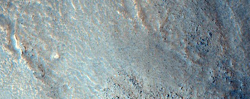 Nodweddion Siap Clustyn Nwyrain Acidalia Planitia
