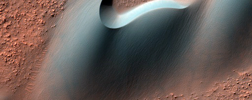 Dunes within Arkhangelsky Crater