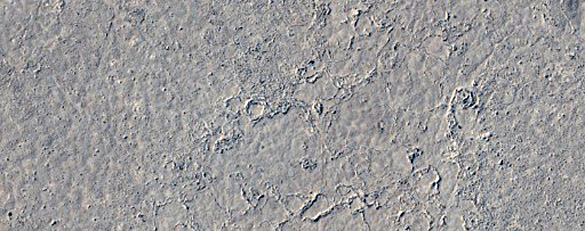 Lava-Draped Surface in Cerberus Palus