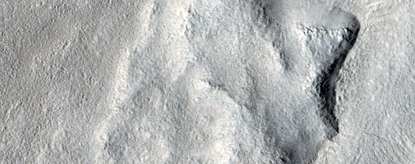 Breached Feature in Adamas Labyrinthus