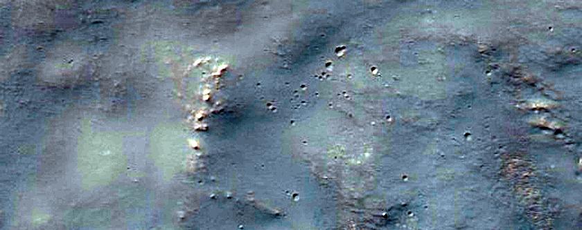 Impact Crater North of Hellas Region