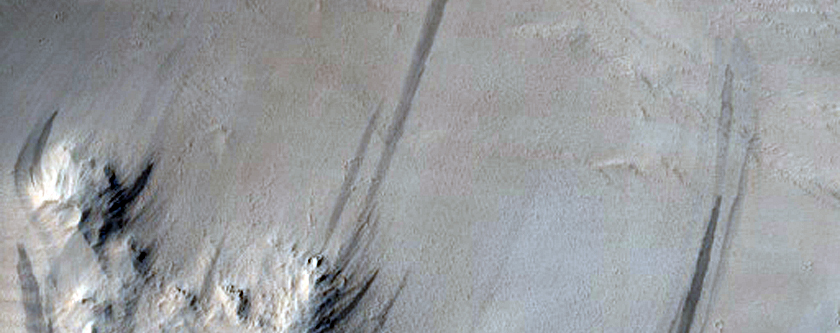 Large Slope Streaks