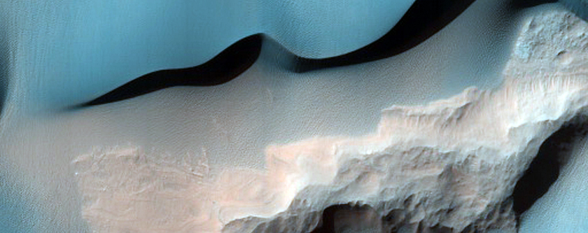 Holden Crater Dune Monitoring