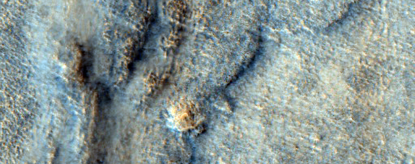 Terrain South of Davies Crater