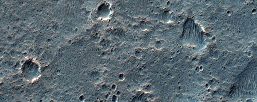 Twin Channels in Innsbruck Crater