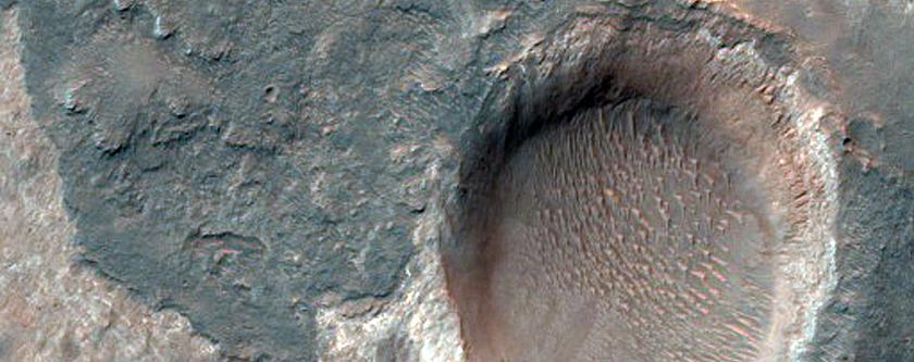 Plains Near Valles Marineris