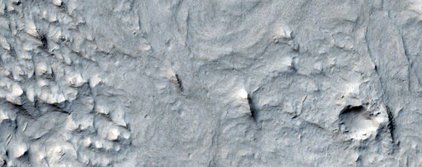 Sinuous Ridges in Aeolis Region