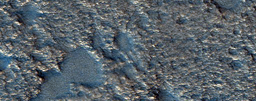 Possible Beaded Stream on Floor of Lyot Crater