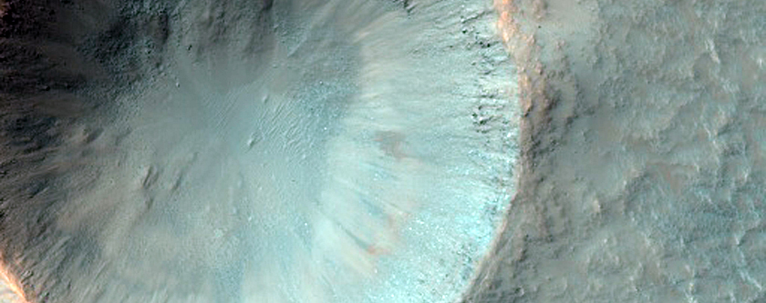 Monitor Crater Slopes