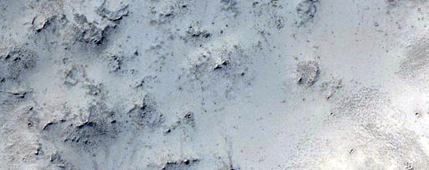 Light Toned Material in Arabia Terra