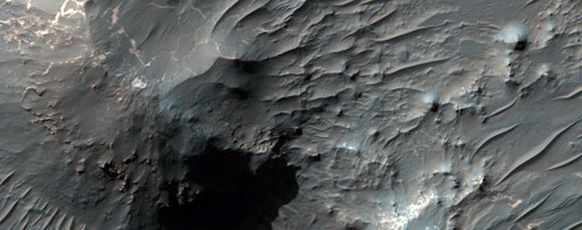 Bedform Monitoring in Uzboi Vallis