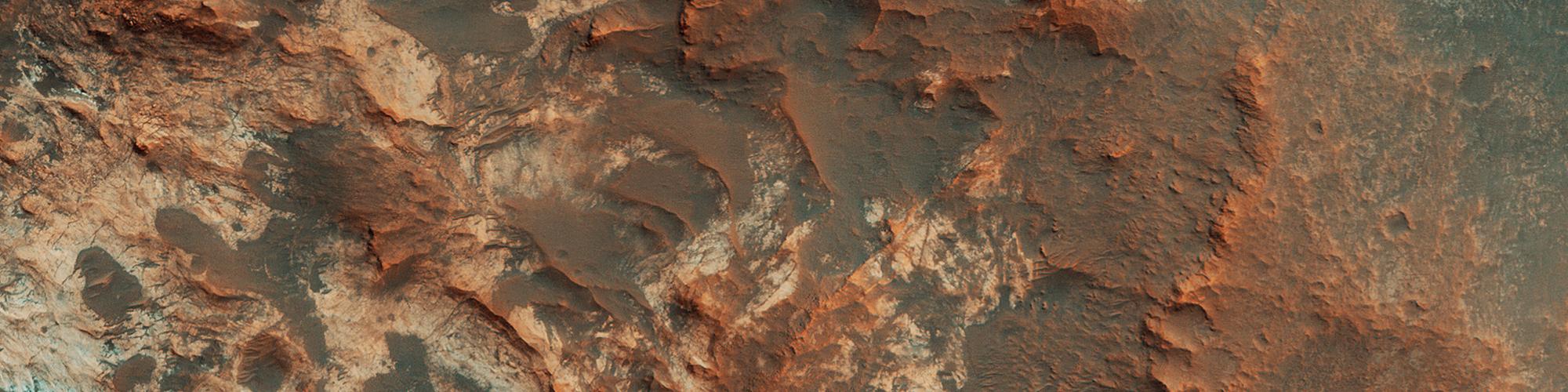Ingången till Mawrth Vallis