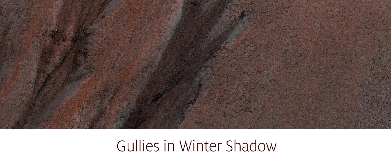 Gullies in Winter Shadow