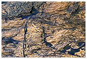 Bedrock Outcrops in Kaiser Crater