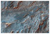Procesy fluwialne w kraterze Bigbee