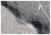 Lava-Yardang Contact in Southern Elysium Planitia
