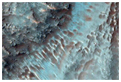 Layers on Crater Floor