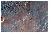 Outflow Channel in Terra Sirenum and the Associated Fan Delta
