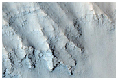 Multiple Views of Layers in Louros Valles Canyon Walls