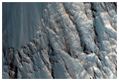 Slope Monitoring in Hebes Chasma
