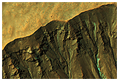 Small Crater with Gullies