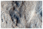 Layers in Crater in Northwest Hellas Planitia