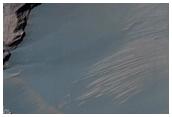 Monitoratge de pendents i dunes al cràter Rabe