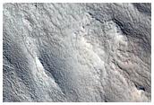 Flow in Protonilus Mensae