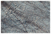 Spider Terrain Not on South Polar Layered Deposits