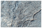Layers in Southern Hellas Planitia