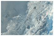 Osservazione di pendii in cratere Wislicenus