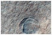 Possible 331-Meter Diameter South Polar Layered Deposits Crater