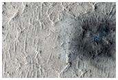 Candidate Recent Impact Site on Floor of Teisserenc De Bort Crater