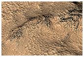 Image on MRO orbit 50,000: Galaxias Fossae