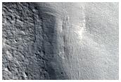 Flow Leaving Mesa Valley in Protonilus Mensae