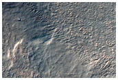 Glacial Landforms Near Argyre Planitia