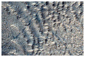 Impact Crater on Hellas Planitia Floor
