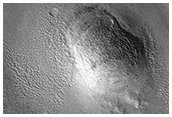 Knobs and Domes in Arcadia Planitia